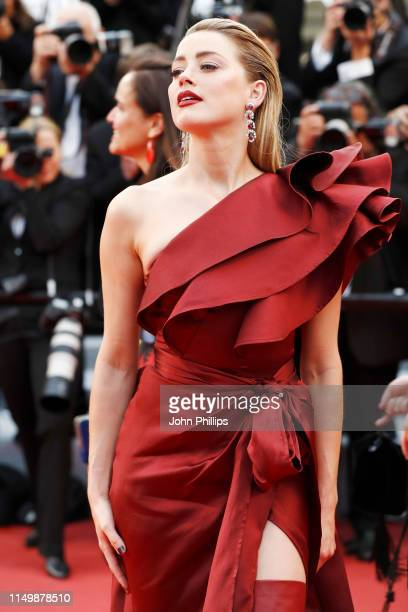 Amber Heard attends the screening of Pain And Glory during the 72nd annual Cannes Film Festival on May 17 2019 in Cannes France