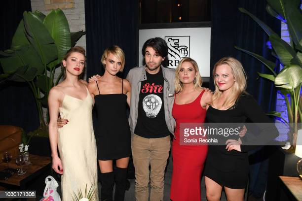 Amber Heard Cara Delevingne Alex Ross Perry Ashley Benson and Elisabeth Moss attend RBC hosted Her Smell cocktail party at RBC House Toronto Film...