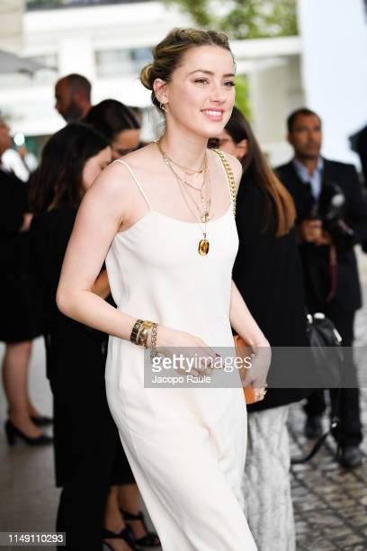 Amber Heard is seen during the 72nd annual Cannes Film Festival at on May 14, 2019 in Cannes, France.