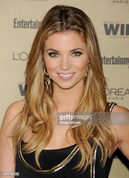 Amber Lancaster arrives at the Entertainment Weekly and Women In Film PreEmmy Party at the 'Restaurant' at the Sunset Marquis Hotel on August 27 2010...