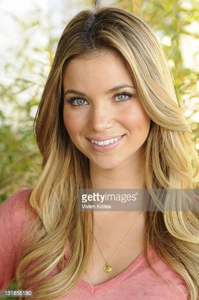 Amber Lancaster attends Cooking Healthy With Jason Chi Event at Chi Dynasty on November 4 2010 in Los Angeles California