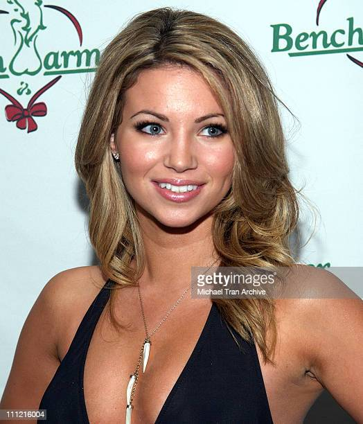 Amber Lancaster during Bench Warmers Holiday Party December 13 2005 at The Lobby in West Hollywood California United States