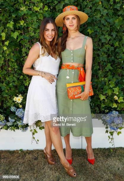 Amber Le Bon and Sabrina Percy attend Cartier Style Et Luxe at The Goodwood Festival Of Speed Goodwood on July 15 2018 in Chichester England
