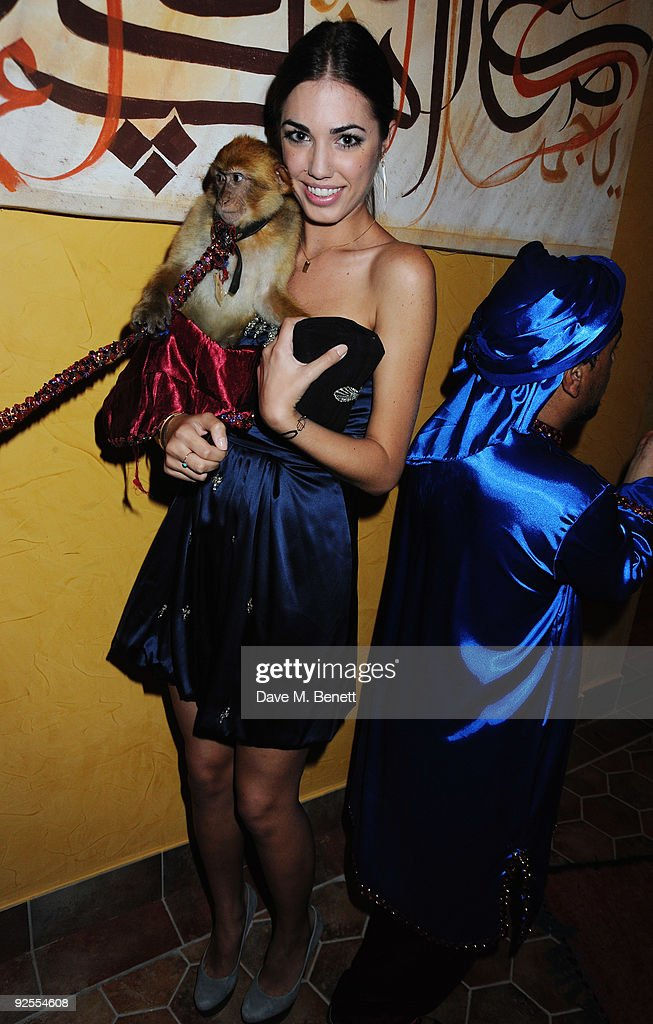 Amber Le Bon attends a party held for the grand opening of Mazagan Beach Resort on October 30, 2009 in El Jadida, Morocco. Kerzner International have launched a brand new 500-room tourist destination in Morocco boasting an 18-hole golf course designed by Gary Player, a 7km stretch of beach, luxury boutiques, eight restaurants, casino, nightclub, a spa and one of the largest conference centres in the region.