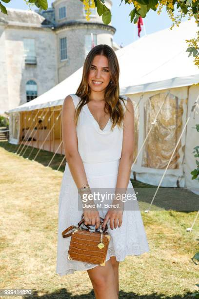 Amber Le Bon attends Cartier Style Et Luxe at The Goodwood Festival Of Speed Goodwood on July 15 2018 in Chichester England