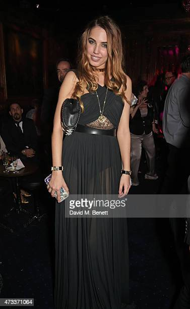 Amber Le Bon attends Sam McKnight's 60th Birthday Party at Tramp on May 14 2015 in London England