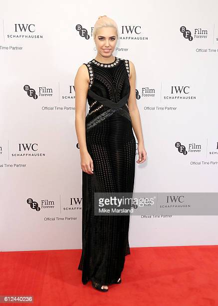 Amber Le Bon attends the IWC Gala Dinner in honour of the British Film Institute at Rosewood Hotel on October 4 2016 in London England
