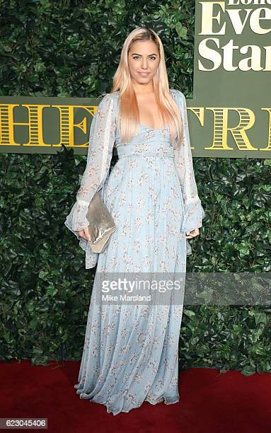 Amber Le Bon attends The London Evening Standard Theatre Awards at The Old Vic Theatre on November 13 2016 in London England
