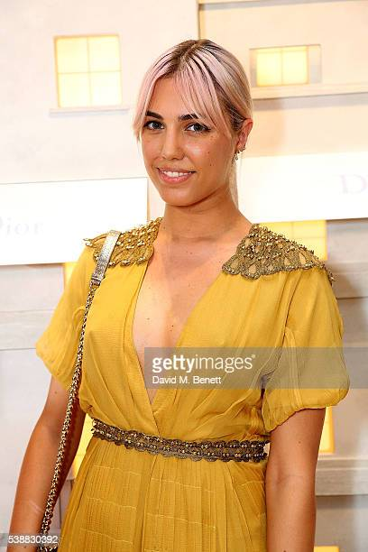 Amber le Bon attends the opening of the House Of Dior on New Bond Street on June 8 2016 in London England