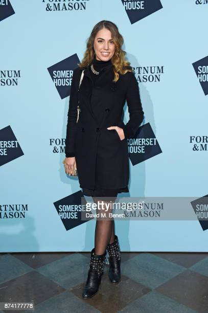 Amber Le Bon attends the opening party of Skate at Somerset House with Fortnum Mason on November 14 2017 in London England London's favourite festive...