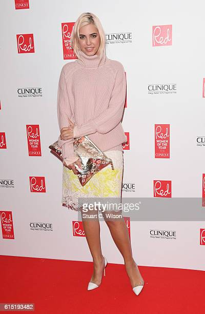 Amber Le Bon attends the Red Women of the year awards at The Skylon on October 17 2016 in London England