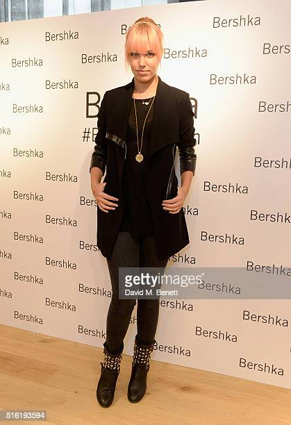 Amber Le Bon attends the relaunch of the Bershka store Oxford Street on March 17 2016 in London England