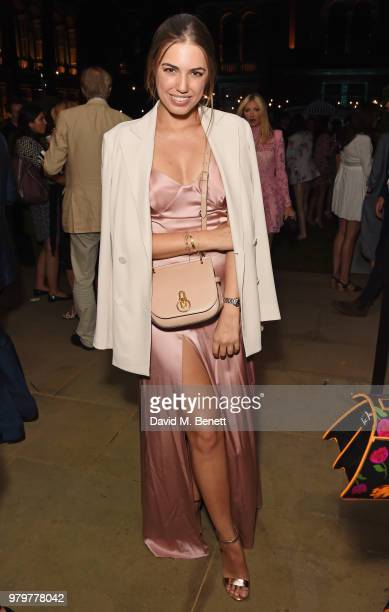 Amber Le Bon attends the Summer Party at the VA in partnership with Harrods at the Victoria and Albert Museum on June 20 2018 in London England