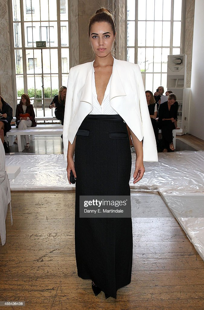 Day 3: Front Row & Celebrities - London Fashion Week SS15 : News Photo