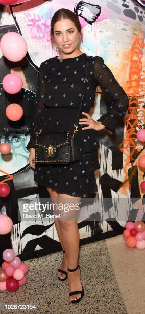 Amber Le Bon attends the Verycouk AW18 collection preview at 110 Bishopsgate on September 4 2018 in London England