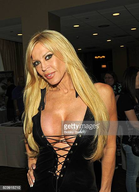Amber Lynn attends 2016 Chiller Theater Expo at Parsippany Hilton on April 24 2016 in Parsippany New Jersey