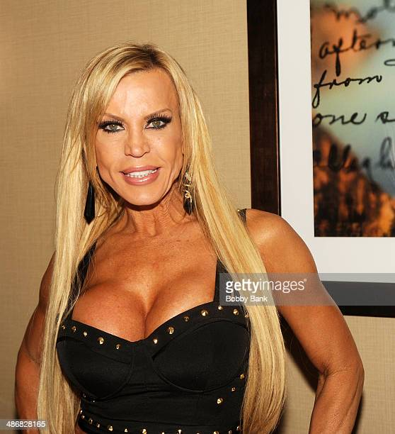 Amber Lynn attends the 2014 Chiller Theatre Expo at the Sheraton Parsippany Hotel on April 25 2014 in Parsippany New Jersey