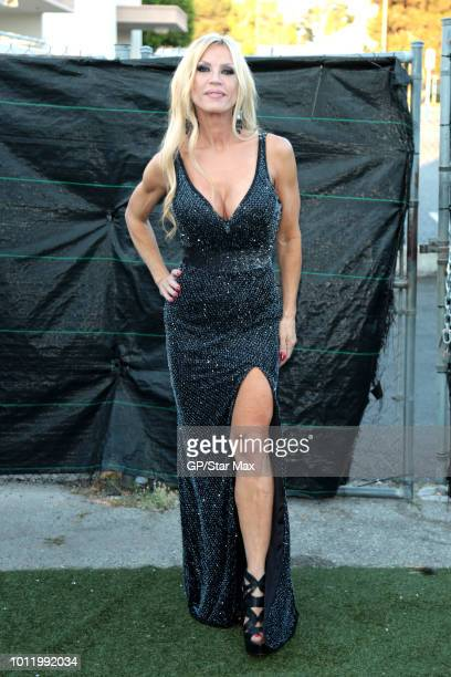 Amber Lynn is seen on August 5 2018 in Los Angeles CA