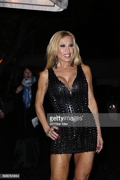 Amber Lynn is seen on January 21 2016 in Los Angeles