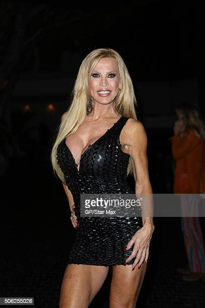 Amber Lynn is seen on January 21 2016 in Los Angeles
