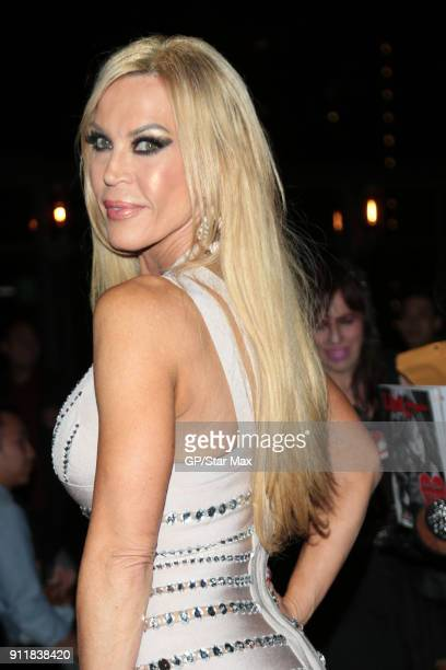 Amber Lynn is seen on January 28 2018 in Los Angeles CA