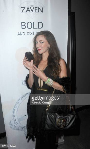 Amber Martinez attends Amare Magazine Presents A Black Tie Event featuring cover model Mike O'Hearn held at Hangar 21 on November 14 2017 in...