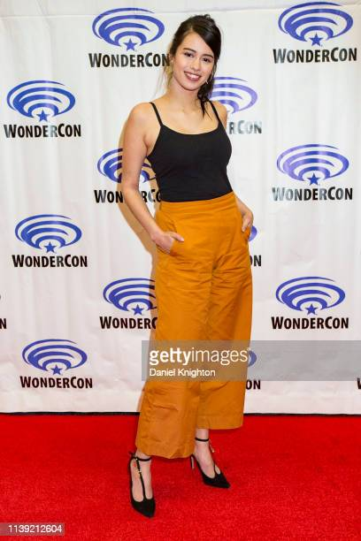 Amber Midthunder attends the Legion photocall at WonderCon 2019 Day 1 at Anaheim Convention Center on March 29 2019 in Anaheim California