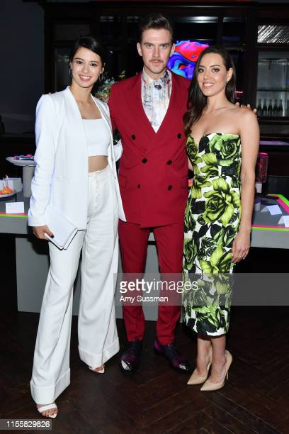 Amber Midthunder Dan Stevens and Aubrey Plaza attend the LA premiere of FX's Legion Season 3 after party on June 13 2019 in Hollywood California