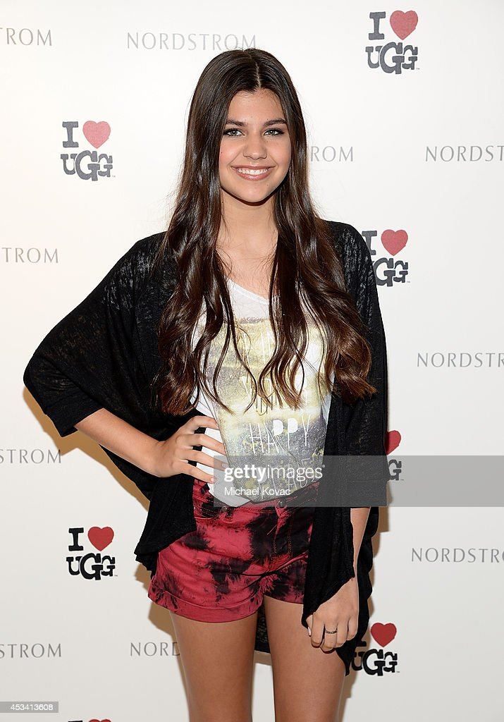 Amber Montana Celebrates The Launch Of I Heart UGG At Nordstrom - The Grove Los Angeles