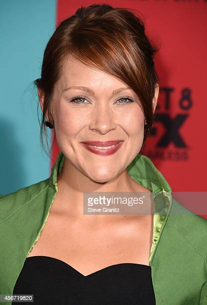 Amber Nash arrives at the American Horror Story Freak Show Los Angeles Premiere at TCL Chinese Theatre IMAX on October 5 2014 in Hollywood California