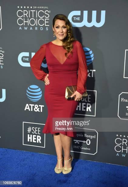 Amber Nash at The 24th Annual Critics' Choice Awards at Barker Hangar on January 13 2019 in Santa Monica California