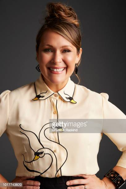 Amber Nash from FXX's 'Archer' poses for a portrait at the Getty Images Portrait Studio powered by Pizza Hut at San Diego 2018 Comic Con at Andaz San...