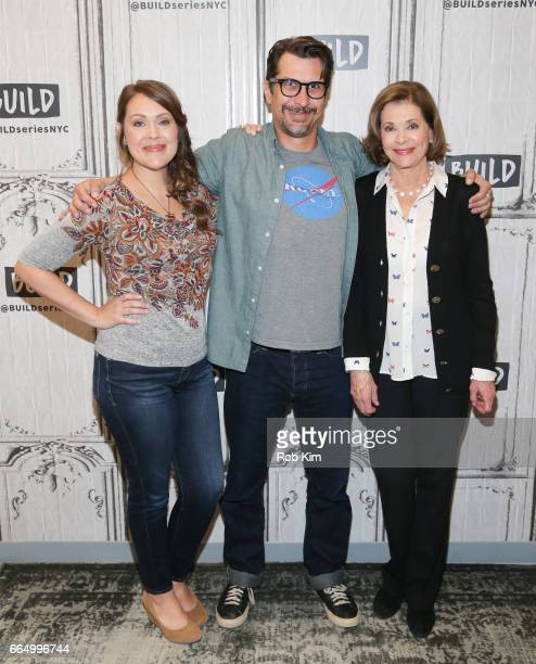Amber Nash Lucky Yates and Jessica Walter attend the Build Series at Build Studio on April 5 2017 in New York City