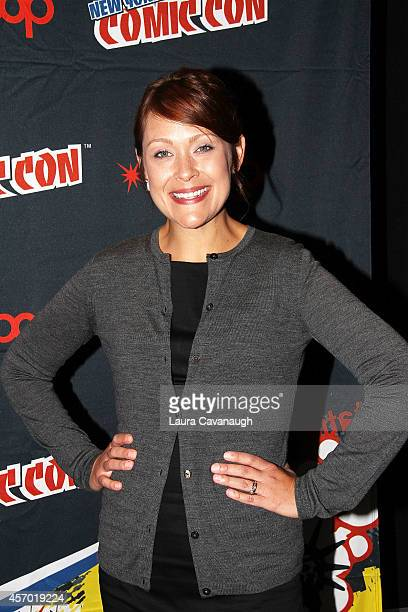 Amber Nash of 'Archer' in the Press Room at 2014 New York Comic Con Day 2 at Jacob Javitz Center on October 10 2014 in New York City