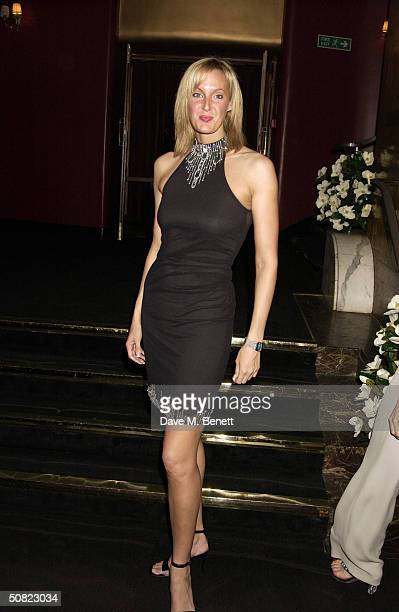 """Amber Neale attends the afterparty following the press night for """"Beautiful And Damned,"""" a new musical based on the lives of American novelist F..."""