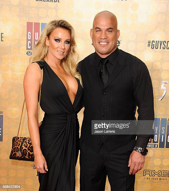Amber Nichole Miller and Tito Ortiz attend Spike TV's Guys Choice 2016 at Sony Pictures Studios on June 4 2016 in Culver City California