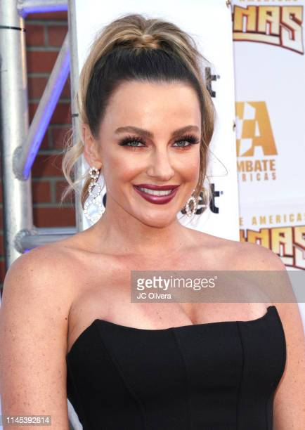 Amber Nichole Miller attends Combate Americas Reinas Del Combate Event at Galen Center on April 26 2019 in Los Angeles California