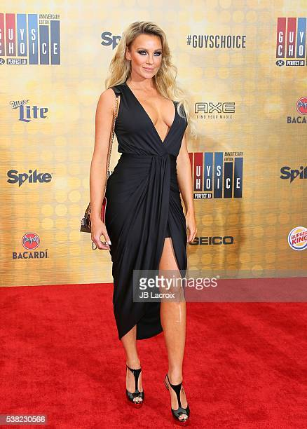 Amber Nichole Miller attends Spike TV's 'Guys Choice 2016' at Sony Pictures Studios on June 4 2016 in Culver City California
