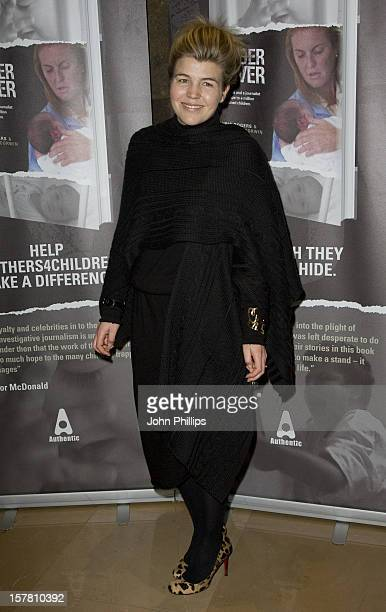 Amber Nuttall Aikens Attends Book Launch For Undercover At The May Fair Hotel In Central London