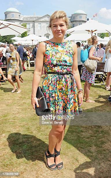 Amber Nuttall attends the Cartier Style Luxury Lunch at the Goodwood Festival of Speed on July 14 2013 in Chichester England