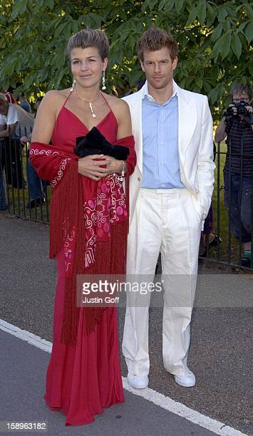 Amber Nuttall Tom Aikens Attend The 2006 Serpentine Gallery Summer Party