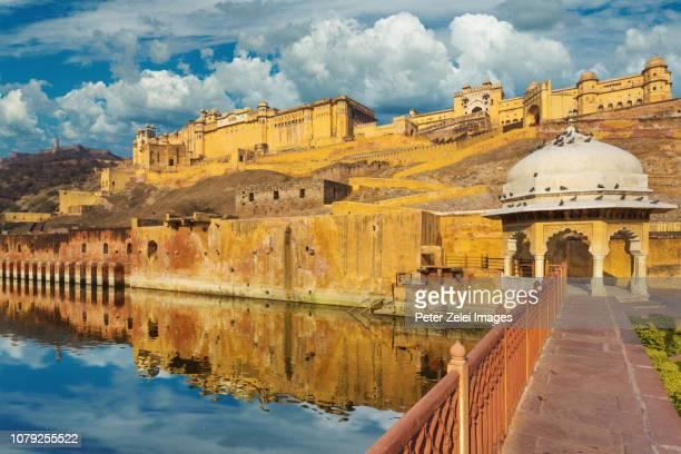 amber or amer fort, located in rajasthan, india - peter forte - fotografias e filmes do acervo