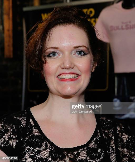 Amber Petty attends '50 Shades The Musical' 100th Performance Celebration at Elektra Theatre on June 12 2014 in New York City