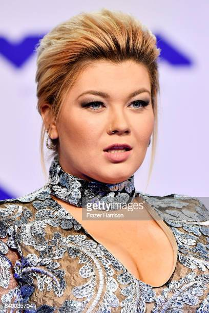 Amber Portwood attends the 2017 MTV Video Music Awards at The Forum on August 27 2017 in Inglewood California