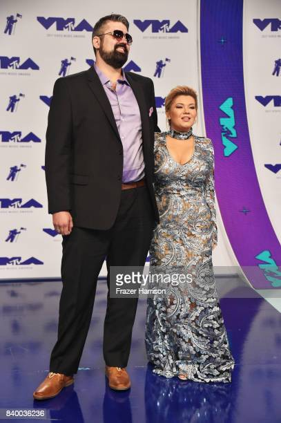 Amber Portwood R0 and guest attend the 2017 MTV Video Music Awards at The Forum on August 27 2017 in Inglewood California