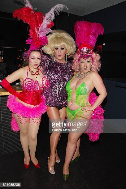Amber Ray Lady Bunny and Dirty Martini attend MAURICIO PADILHA Birthday Party hosted by ROGER PADILHA PHILLIPE BLOND and DAVID BLOND at Highbar NYC...