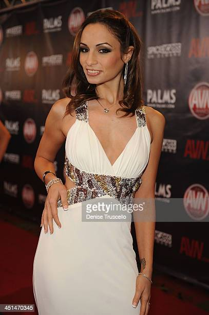 Amber Rayne arrives at the 2010 AVN Awards at the Pearl at The Palms Casino Resort on January 9 2010 in Las Vegas Nevada