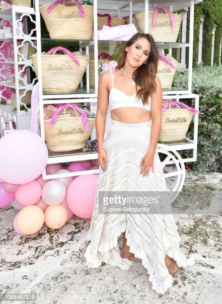 Amber Ridinger-McLaughlin attends the Lumière De Vie Resort during Art Basel on December 4, 2018 in Miami Beach, Florida.