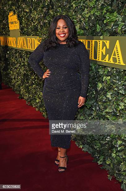 Amber Riley arrives at The 62nd London Evening Standard Theatre Awards recognising excellence from across the world of theatre and beyond at The Old...
