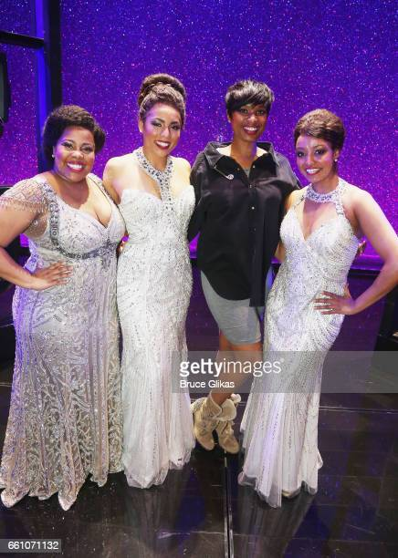 Amber Riley as Effie White Liisi LaFontaine as Deena Jones Jennifer Hudson winner of the Academy Award for Best Supporting Actress for the role of...